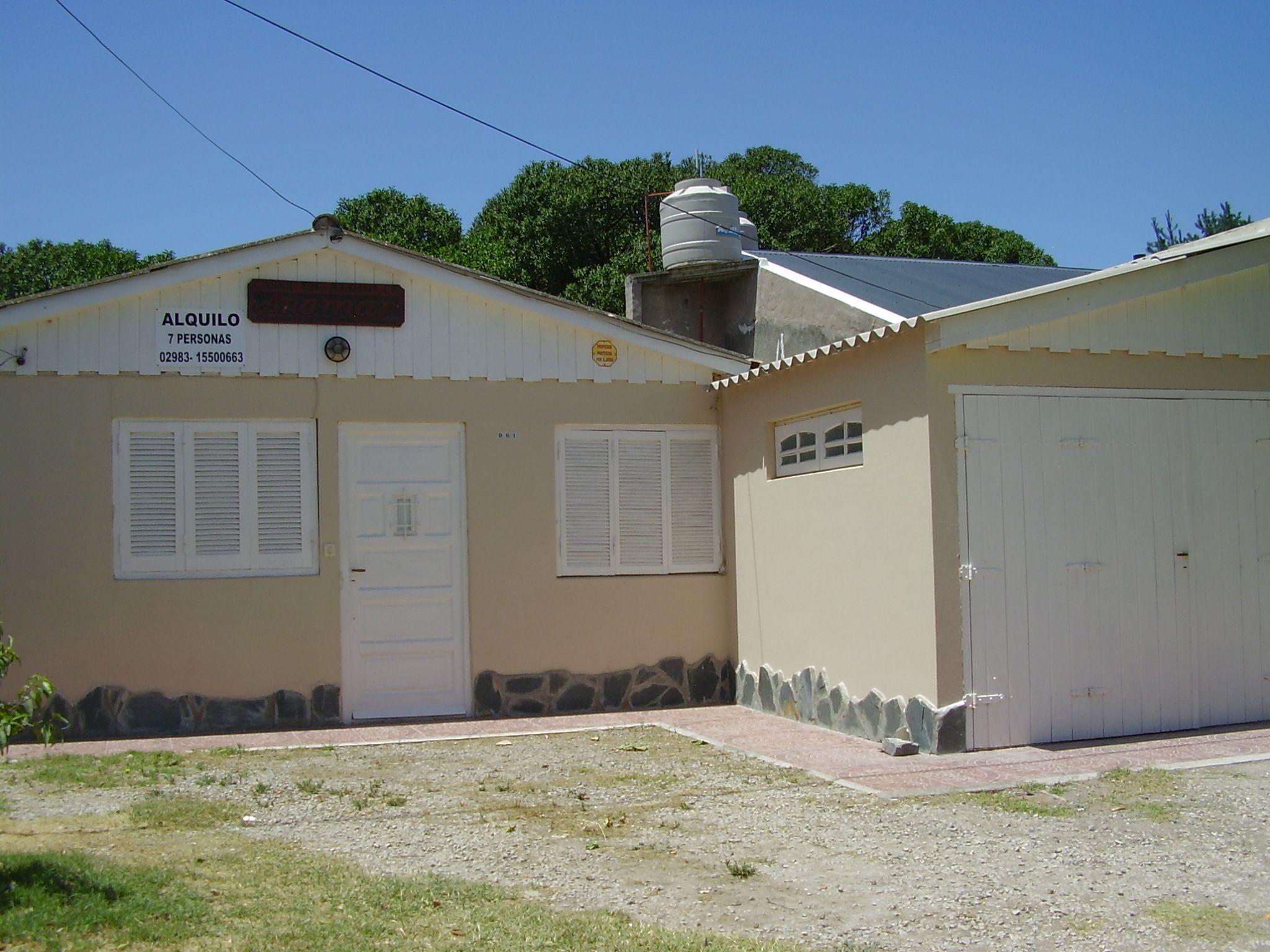 CLAROMECO: Anamar, Casa 3 habitaciones