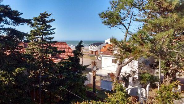 vista al mar desde el balcon