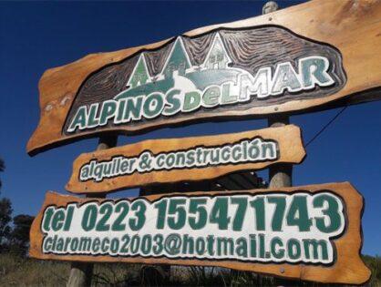 CLAROMECO: Cabañas Alpinos del Mar para 2, 4 y 6 personas