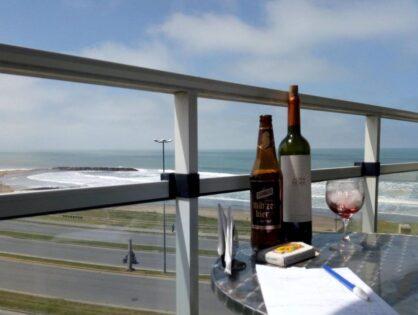 MAR DEL PLATA: Monoambiente Libres del Sud frente al mar